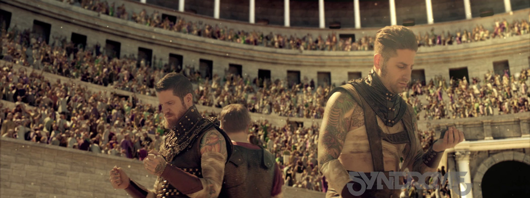 Syndrome Studio Creates Crowds For Fall Out Boy Centuries Golaem