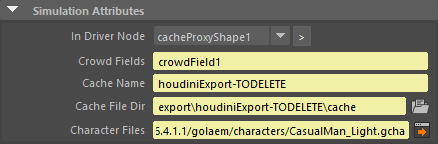 Crowd Render Proxy | Golaem