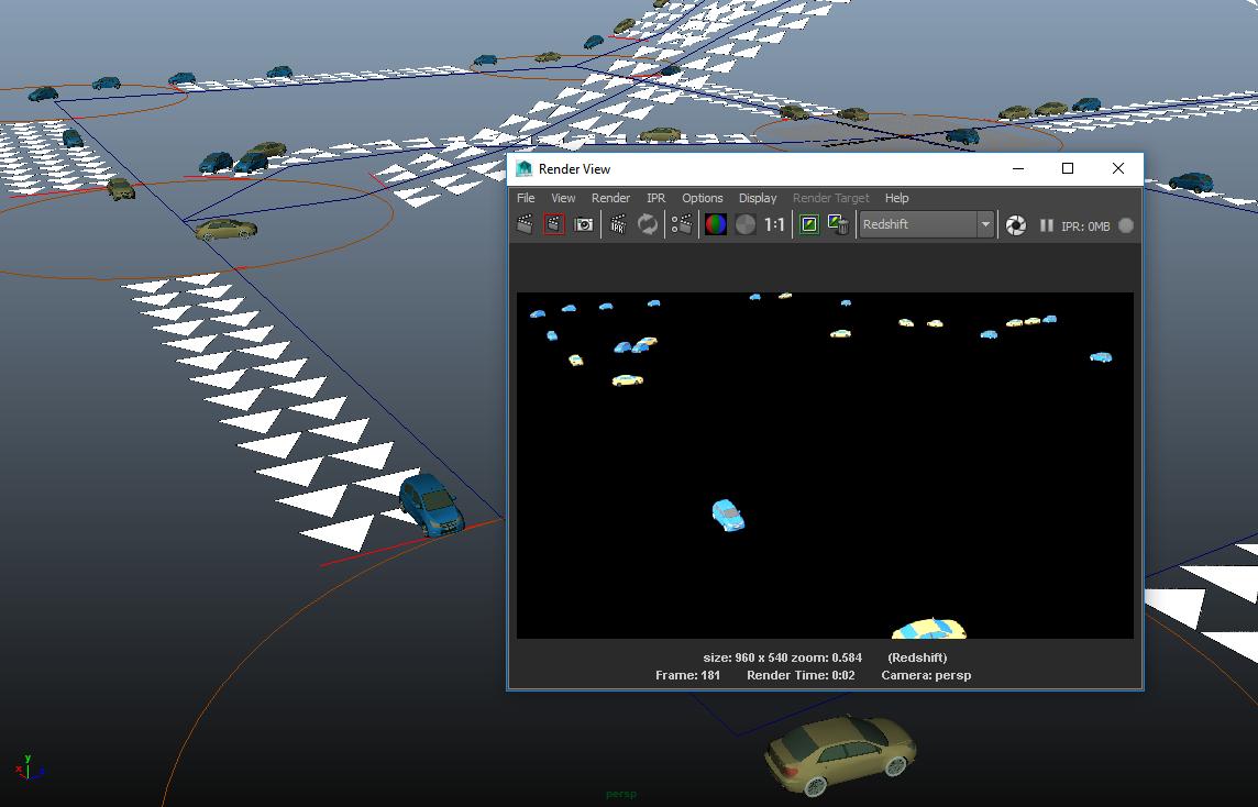 Simulating Traffic | Golaem
